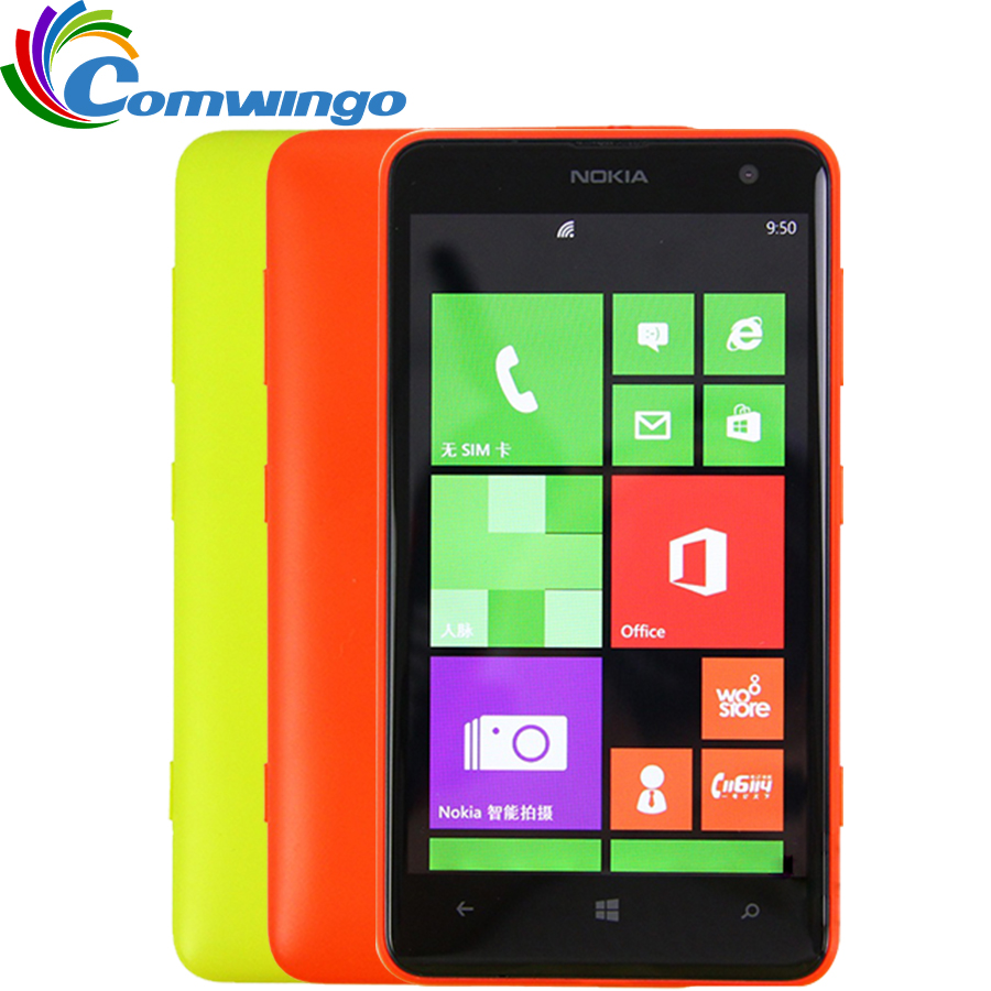 Unlocked Nokia Lumia 625 Mobile phone 4 7 inch Touch screen Dual core GPS WIFI 3G