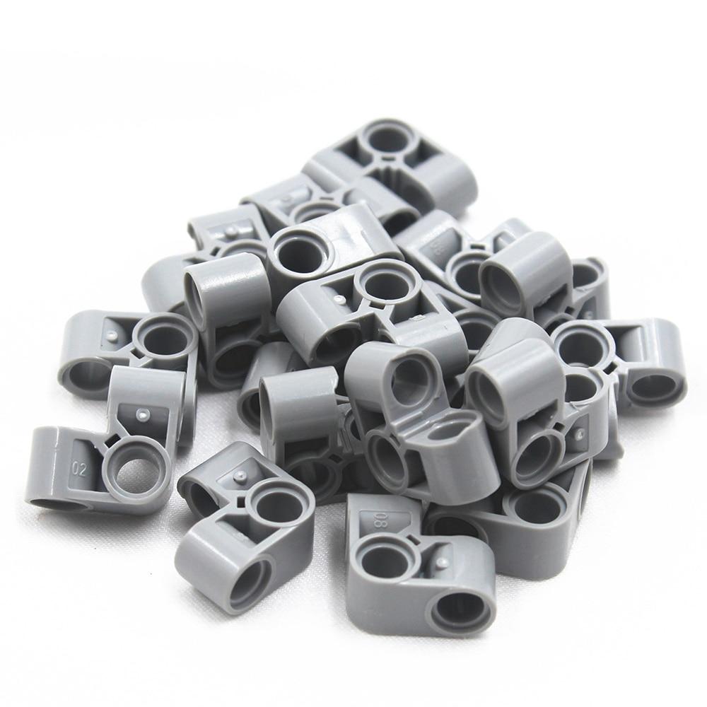 Self-Locking Bricks -- MOC Building Blocks 20PCS HTO V BEAM 90 DEGR. Compatible With Lego