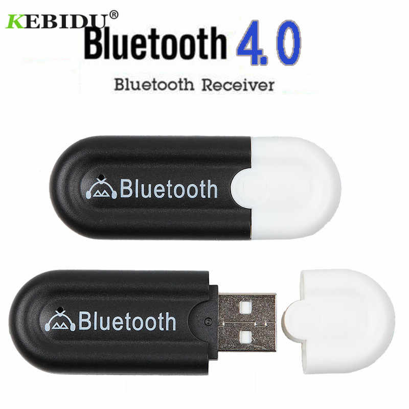 Kebidu Draadloze Bluetooth 4.0 Adapter Usb Bluetooth Ontvanger 3.5 Mm Audio Jack Dongle A2DP 5V Voor Auto Speaker Aux android/Ios