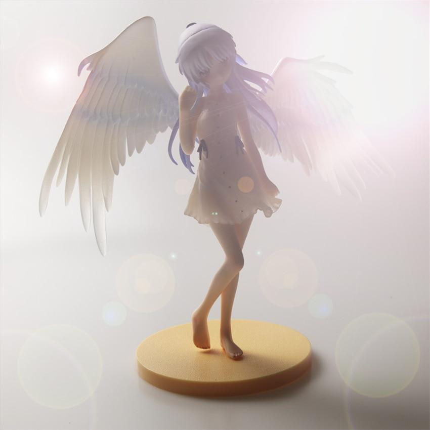 Eva2king Japanese Comic Girls With Wings Action Figure Toys Tenshi School Uniform Ver. Tachibana Kanade Decorations For Room