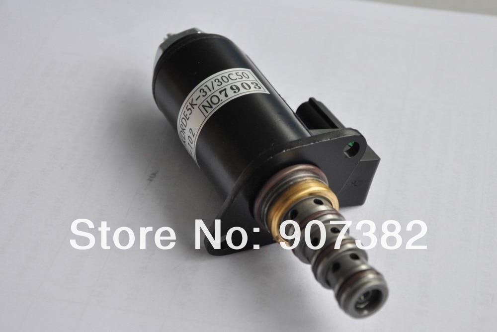 kobelco sk200-6e соленоид клапан, yt35v00041f1, kdrde5k-31