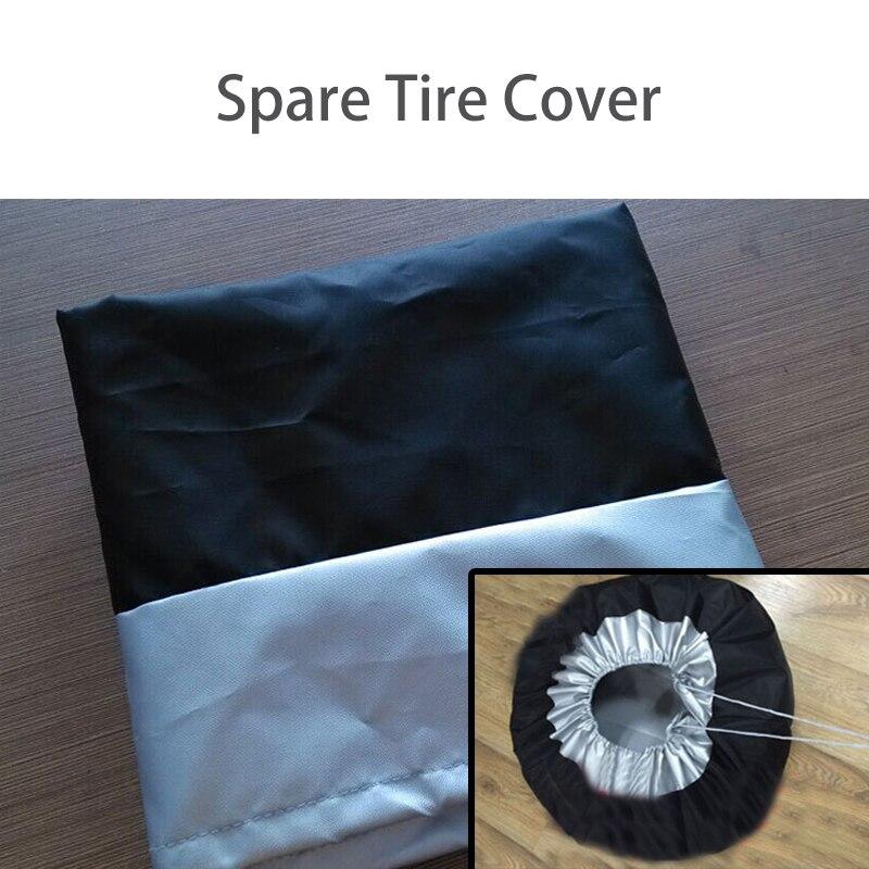 NWIEV 1X housse de pneu de rechange de voiture étanche à la poussière et à la pluie pour BMW E90 F30 F10 Audi A3 A6 C5 C6 Hyundai i30 ix35 ix25 KIA accessoires - 6