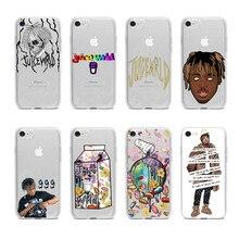 Juice Wrld Lucid Dream Hip Hop Rap TPU soft silicone phone case be appropriate