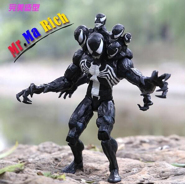 "Arrivo 8 ""20 cm Spider Man Venom Action Pvc Figure Toys Modello Doll"