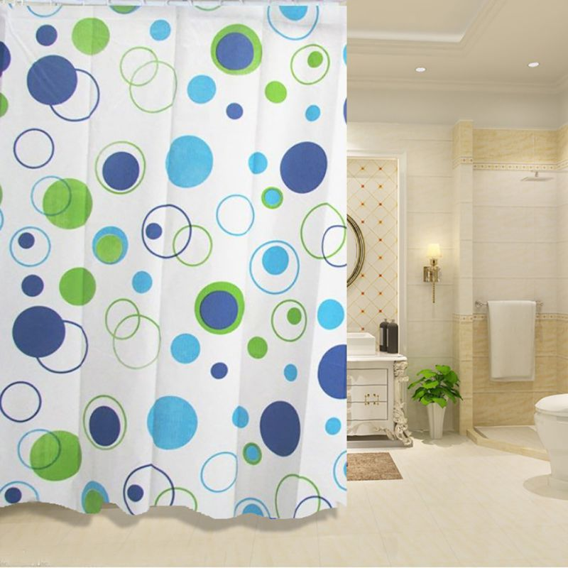 Łazienka Zasłony prysznicowe Wodoodporna powłoka PEVA Pleśni - Artykuły gospodarstwa domowego - Zdjęcie 3