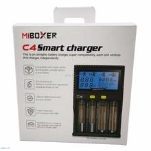 C4 miboxer Батарея Зарядное устройство для 10340 10440 AA AAA 14500 18650 26650 Батарея Зарядное устройство Универсальный Зарядное устройство ЕС, США, Великобритания Plug
