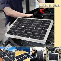 Monocrystalline Silicon Solar Panel Solar Cells Reusable Powered Outdoor Module Travel DIY Solar Charging Equipment
