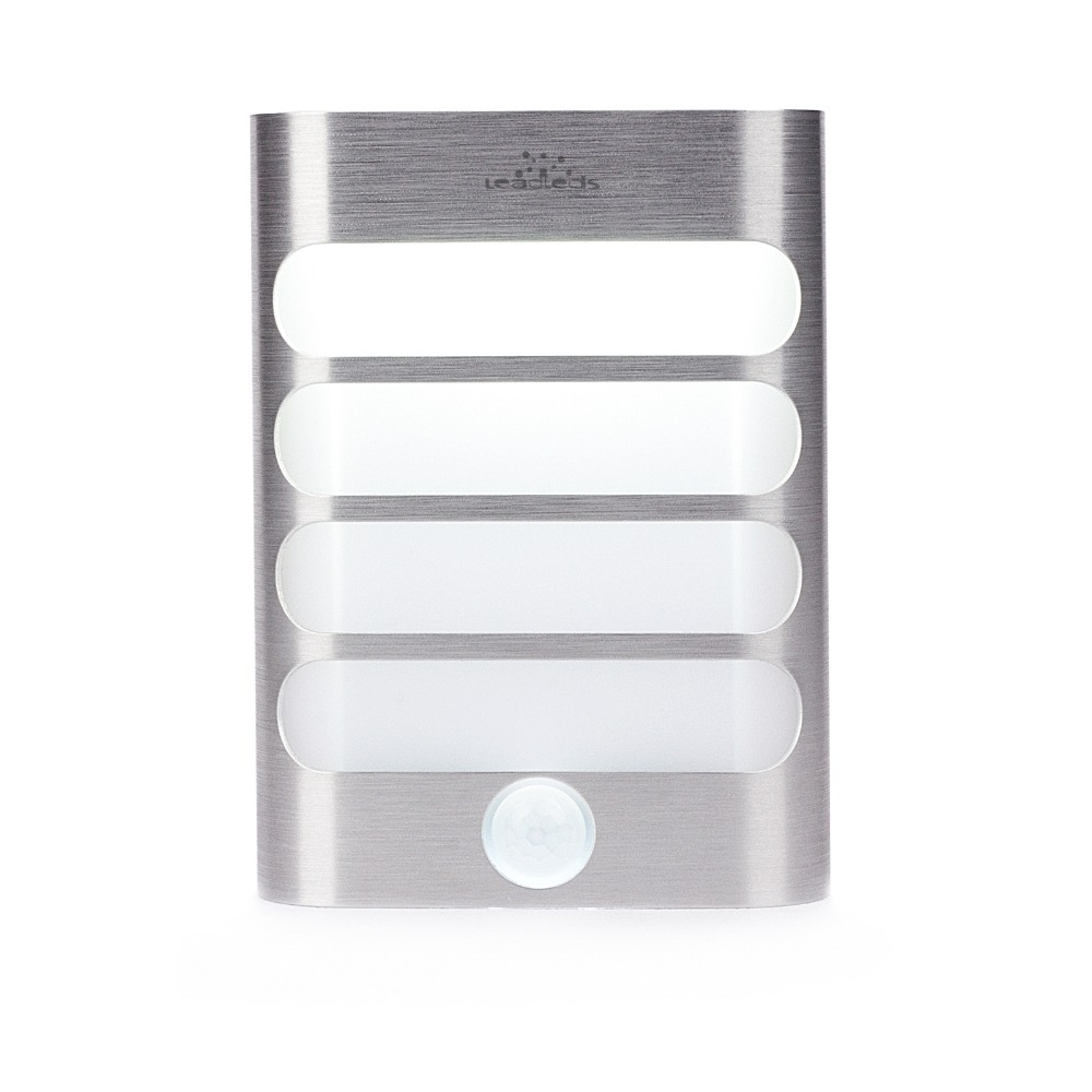 Rechargeable Square motion sensor light LED night light Battery Operated Auto On/Off Workshops Hallway Closet Staircase Garden цена