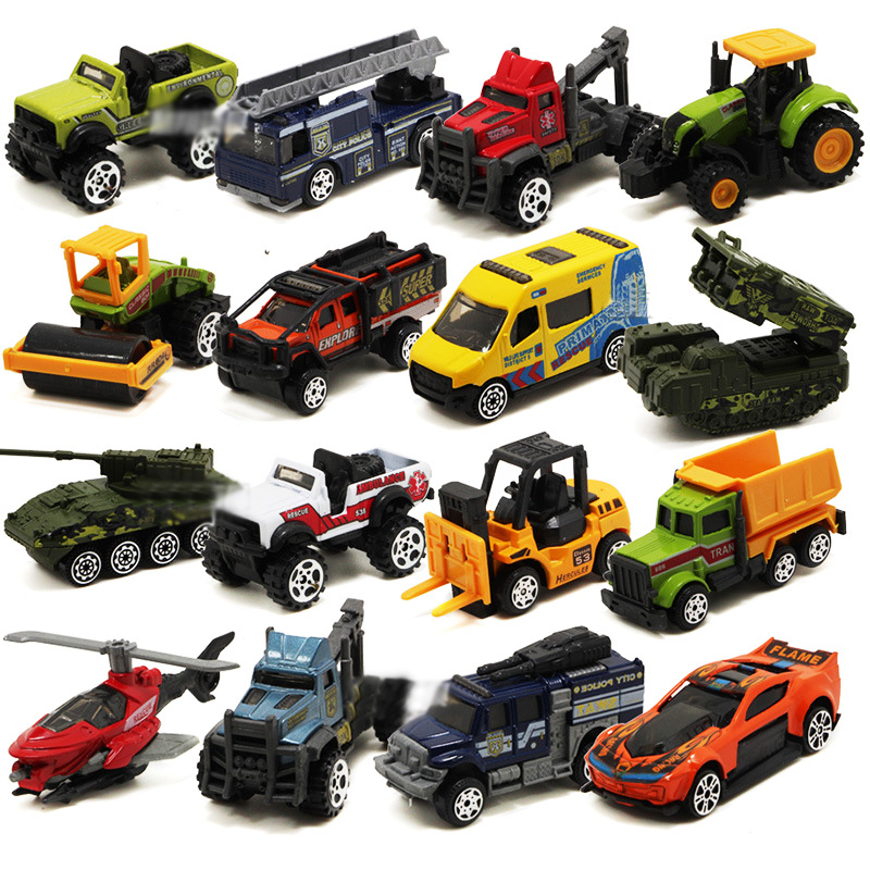 1:64 Scale mini Alloy Car Model Kids Toys Alloy Toy Cars Collection Gift Metal toy model Sliding car toy for boys 5Pcs/Lot
