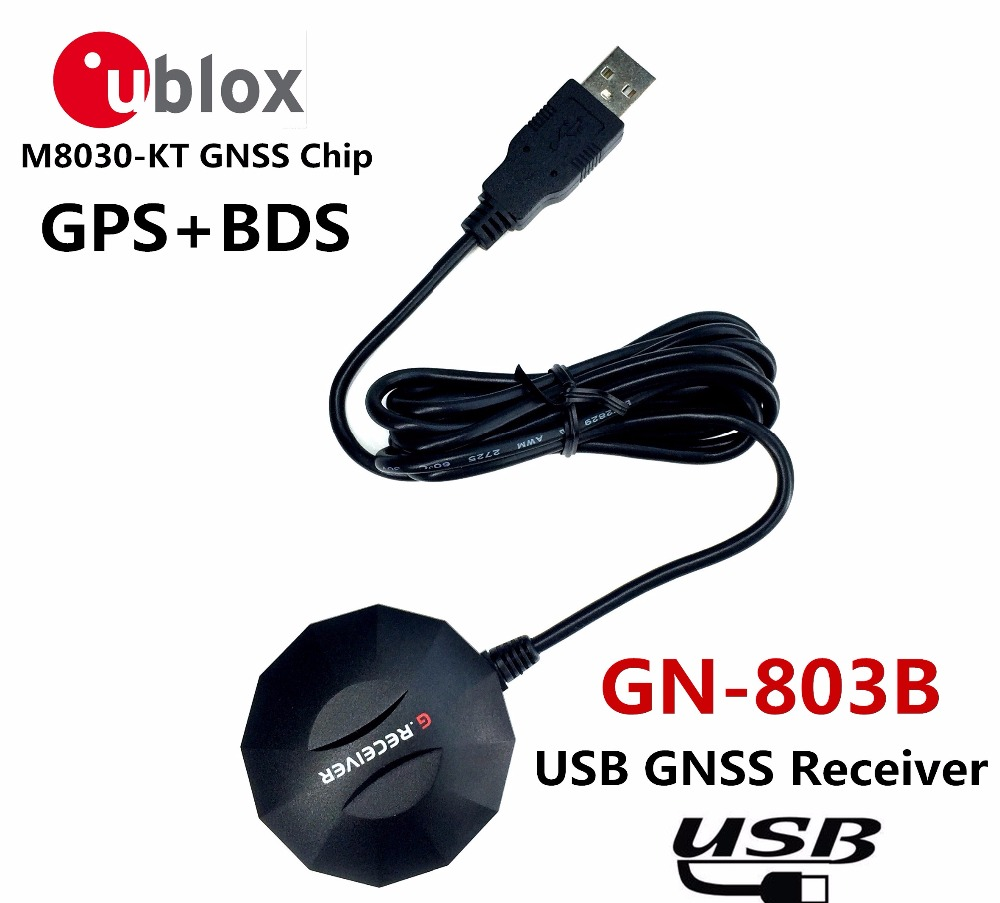 USB GPS receive BDS GLONASS Module antenna,Dual-mode UBLOX M8N Module GNSS chip NMEA0183 , BDS compatible, alternative BU-353S4 цена и фото