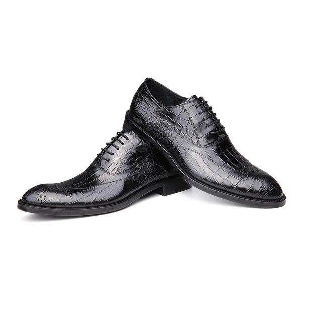 6c67a6d334d66 Aliexpress.com : Buy Oxford,men shoes,genuine leather dress wedding Italian  brand designer formal business shoes ,men Oxford,men casual shoes 110 9 ...