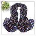 Free Shipping (3pcs/lot) Whole Sale Hot Sale Velvet Chiffon Woman Summer Thin Long Scarf  Fashion Woman Chiffon Shawl