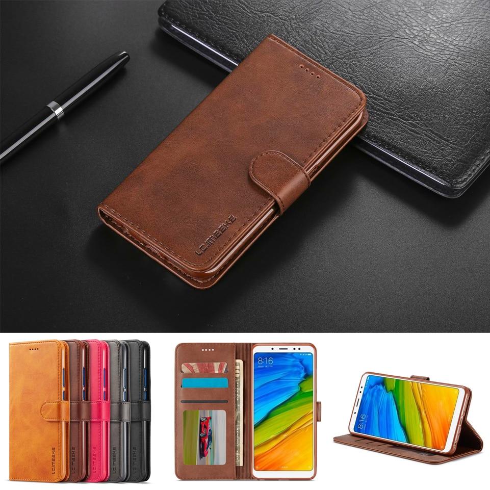 Coque redmi Note 5 Pro cover leather wallet phone case for xiaomi redmi Note 5 case card holder hoesje redmi Note 5 flip case