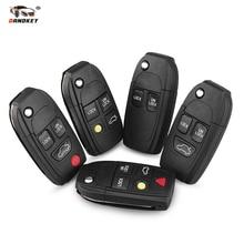 Dandkey Car Remote Key Shell Case Modified key For Volvo XC70 XC90 V40 V50 V70 V90 C30 C70 S40 S60 S70 S80 Fob 2 3 4 5 Buttons turbo cartridge chra td04l 49377 06213 49377 06212 49377 06202 36002369 for volvo pkw xc70 xc90 s60 s80 v70 2 5l b5254t2 210hp