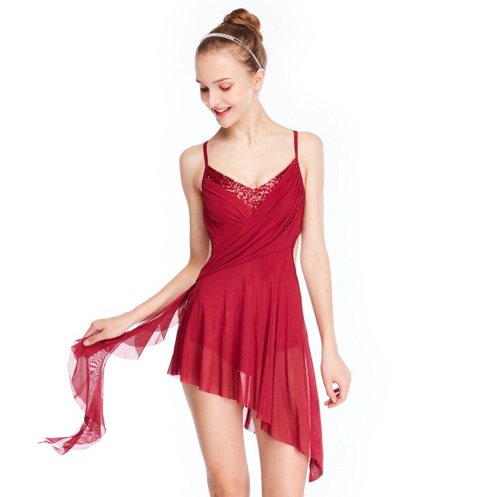 Elegant Contemporary Dance Dress For Ballroom Dancing Dress Lyrical Ice Skating Dress