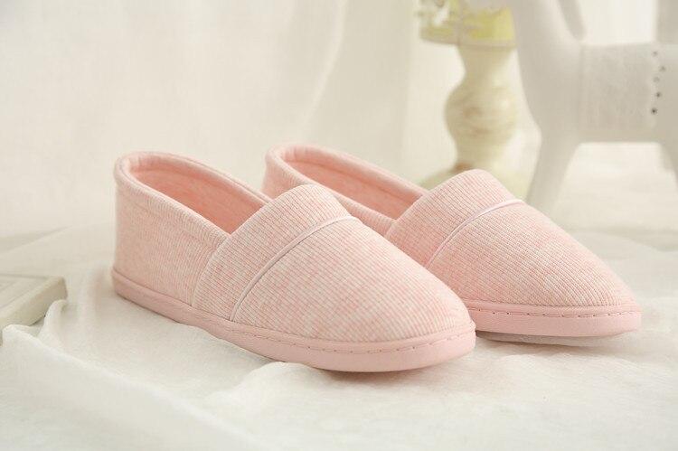 algodão-acolchoado chinelos de algodão feminino chinelos de