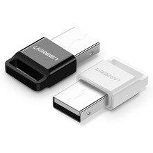 UGreen Adaptador de interfaz USB Bluetooth 4,0, receptor de escritorio de ordenador portátil, transmisor de Audio APTX