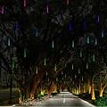 Многоцветные 30 СМ Метеорный поток Дождь Трубы AC100-240V LED Рождественские Огни Свадьба Сад Xmas Свет Шнура Открытый