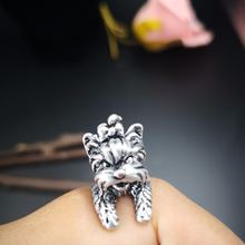 Кольцо для йоркширского терьера свободного размера кольцо собак