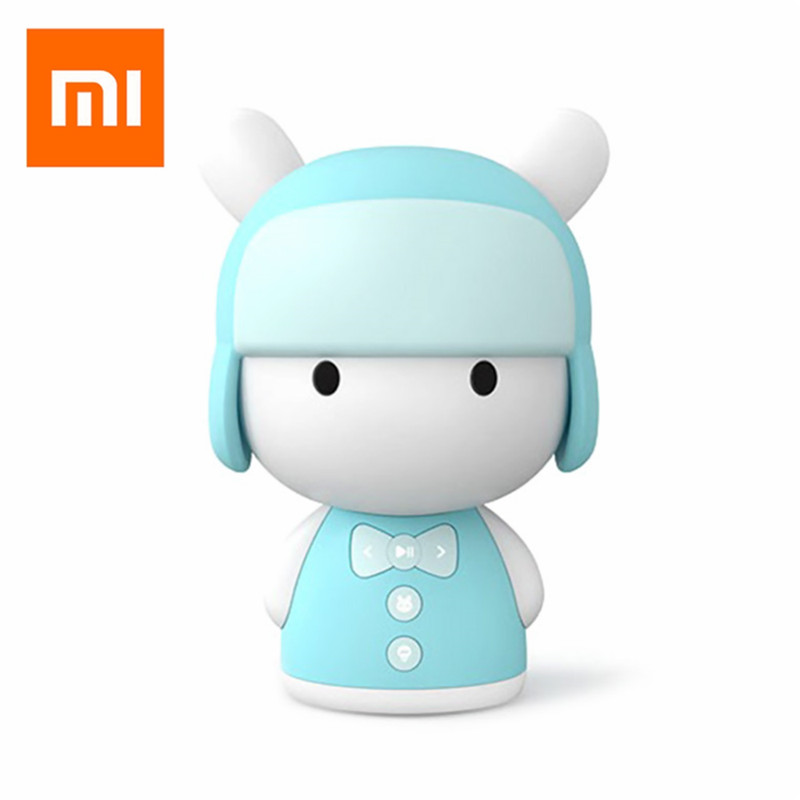 Xiaomi Robot Toy MITU Intelligent Story Teller Mini Robot Machine APP Control Xiaomi Mi Robot Action Figure kids Birthday Gift толстовка toy machine bummed black