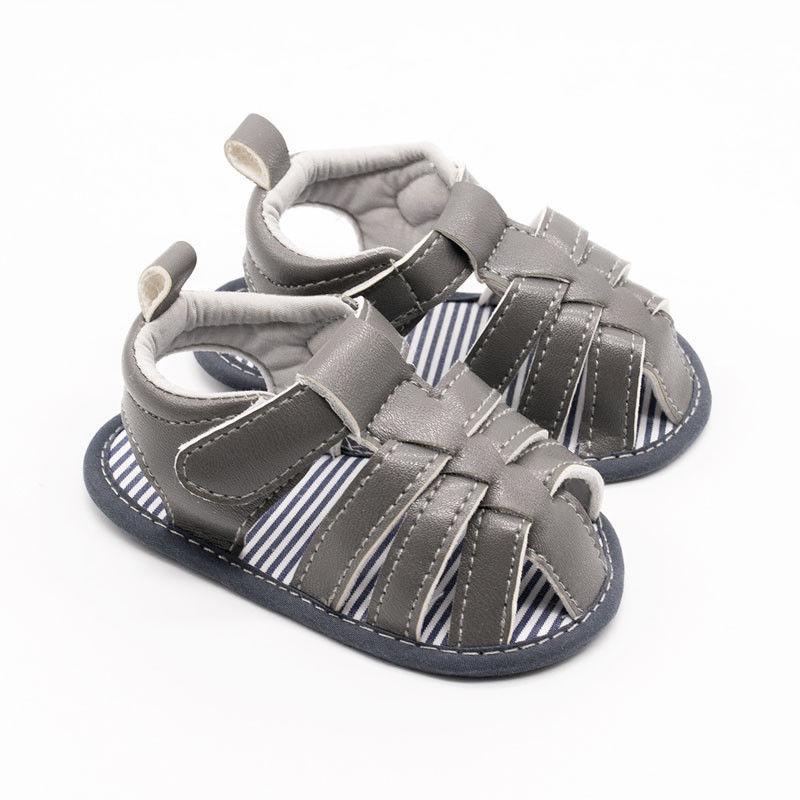 Pudcoco Summer Toddler Baby Kid Girl Boy Newborn Soft Crib Sole Leather Shoes Prewalker Sandals