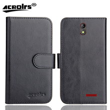Irbis SP542 Case 6 Colors Dedicated Soft Flip Leather Special Crazy Horse Phone Cover Cases Credit Card Wallet