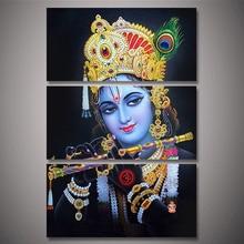 3pcs 5D DIY Diamond Painting Handicraft Cross Stitch radha krishna Full Square Diamond Embroidery home Decor Y2498 radha