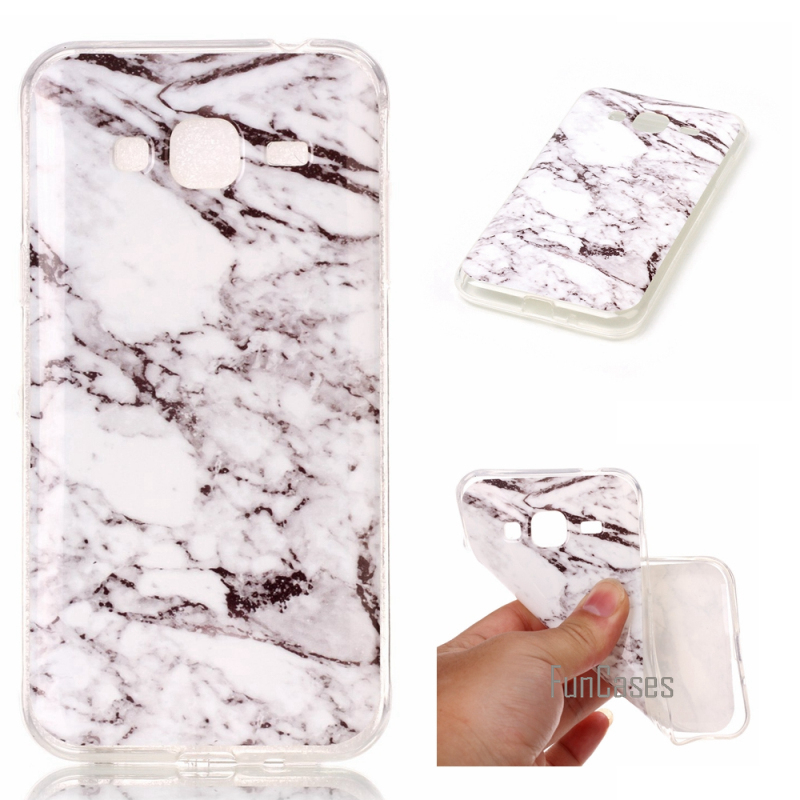 Phone Cases For Samsung Galaxy <font><b>J3</b></font> <font><b>2016</b></font> J310 Case Marble Stone image Painted Cover Mobile Phone Bags & Case For Samsung J310 image