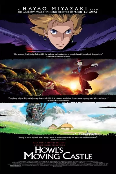 Howl's Moving Castle 2004 Movie Poster 24x36 inch image