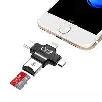 SanDisk Micro SD Card 64GB 32GB 16GB 128GB Memory Card 4 In 1 Type C Lightning
