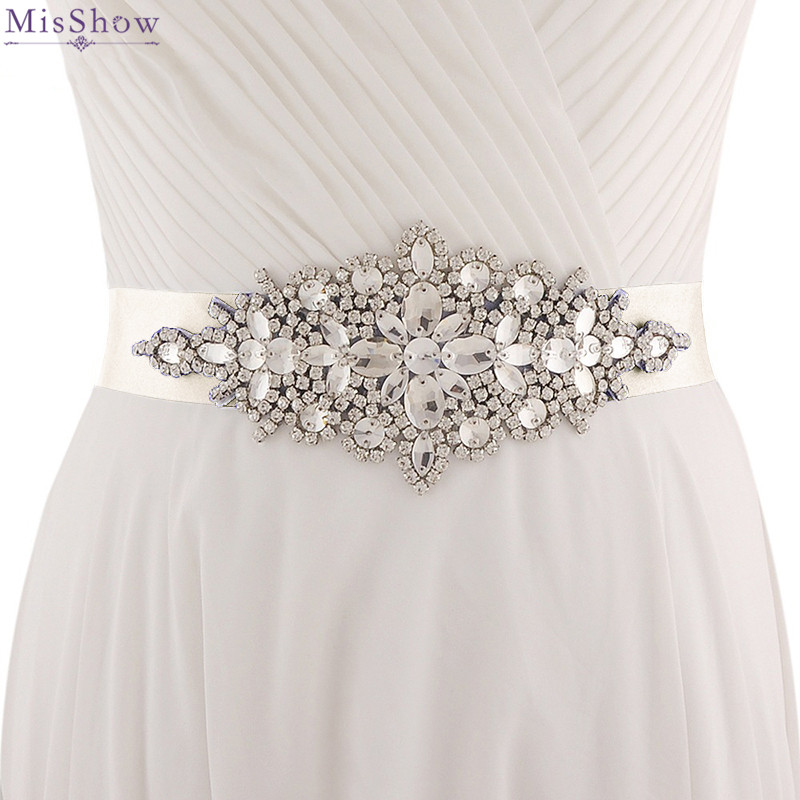 Wedding Gown Belts And Sashes: 2019 Crystal Rhinestone Belts For Wedding Dresses Wedding