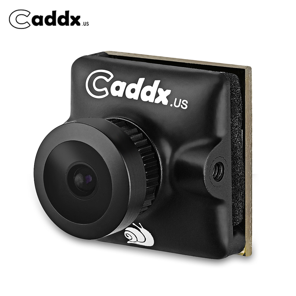 Caddx Turbo Micro SDR2 Large Tension FPV Caméra CMOS Double Balayage De 1/2. 8 2.1mm Lentille 1200TVL NTSC/PAL 16:9/4:3 Commutable Super WDR