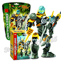 51pcs Bela Hero Factory Series Brain Attack EVO Model Building Blocks Educational Toys Sets Compatible With Lego