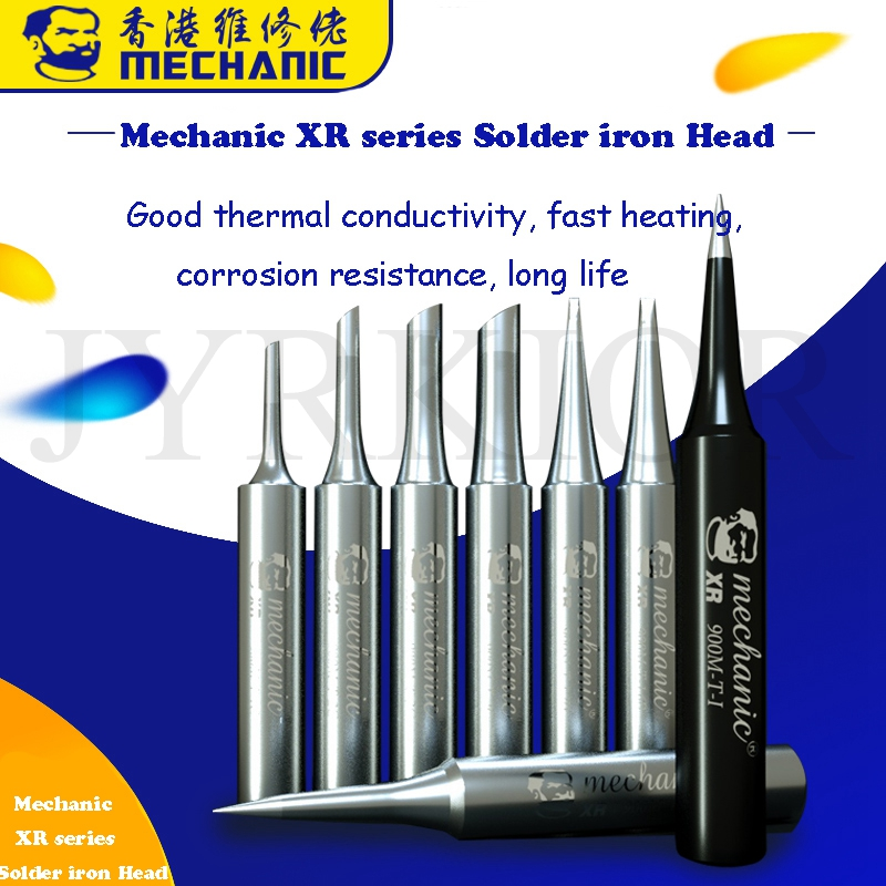 Mechanic 900M-T-I XR Series Soldering Iron Head Electric Internal Hot Soldering Iron Tip Anti-Static Tip Elbow Soldering Iron