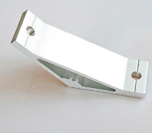 135 Degree Inside Corner Bracket Aluminium Extrusion Support Connector For Aluminum Profile 5050