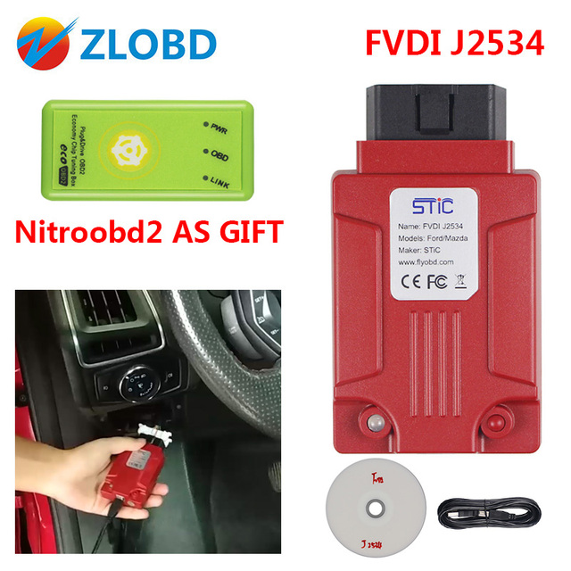 US $169 0  FVDI J2534 Auto Diagnostic Tools For VCM for Mazda For Ford IDS  Forscan Auto Scanner Support Online Module Better Than ELM327-in Car
