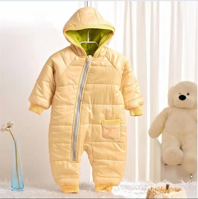 infant boys snowsuit