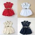 Marca la moda de nueva 2016 ropa las muchachas niños vestidos fiesta para las muchachas del vestido del bebé niños ropa de princesa dress 18 M - 5 T