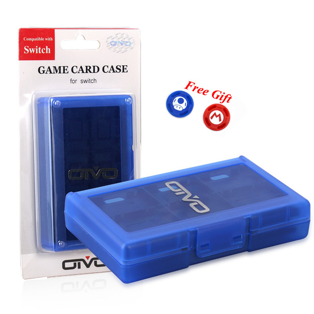 Nintend Switch Accessories 24 in 1 Portable Game Cards Storage Case Shell, Games Card Box for Nintendo Switch Game 5