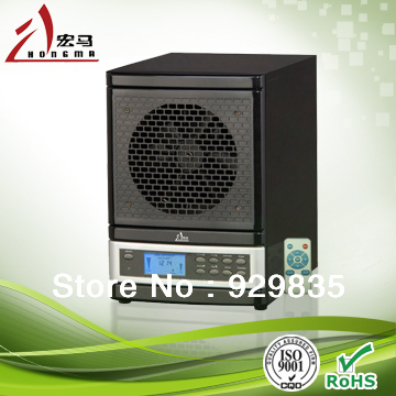 Portable LCD intelligent ozone air purifier, home air ionizer, air cleaner ozone genarator with uv 110V-240v