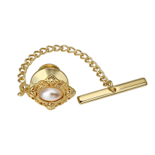 Tack-Clips-Pins Accessories-Faceted Pearl Classical-Tie HAWSON Wedding Men for Business