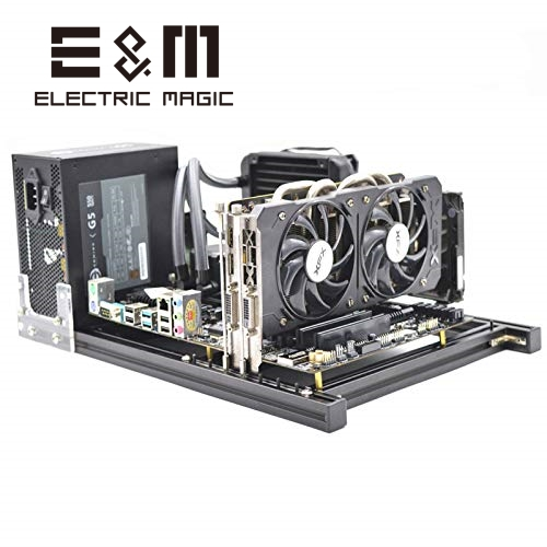 Mini ITX PC Open Frame Test Bench Motherboard Overclock Computer Case DIY Mod Base Chassis