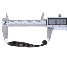 Pro beros 10 pcs 8.7cm Soft Worm Fish Lure Bait Fishing Accessory Tackle Artificial Bait Fake Bait