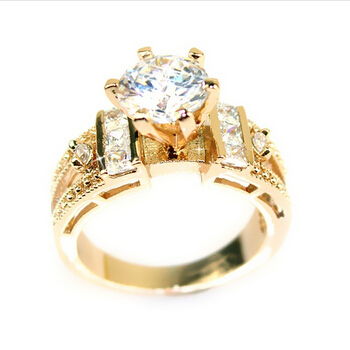 new 2014 engagement ring o 2014 New Year CZ To Gir...