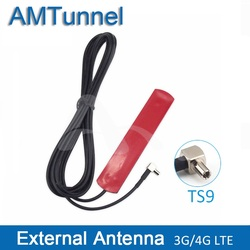 4G LTE WI-FI антенны 3g антенна 700-2600 MHz TS9 мужской внешняя антенна с 3 м кабель-удлинитель для huawei модем-маршрутизатор