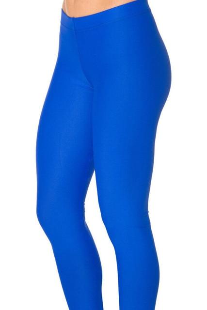 8bbd8125df957 US $8.99 |Neon Königlichen blau navy skyblue dunkelgrau schwarz lila  einfarbig Yoga Leggings Dünne mädchen fitness compression strumpfhosen  legging ...