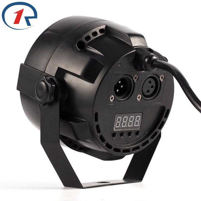 ZjRight 15W IR Remote RGBW LED Par lights Control de sonido dj disco - Iluminación comercial - foto 4