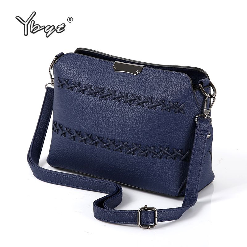 YBYT brand 2017 new fashion casual women PU leather shell bag lady small shopping pack female shoulder messenger crossbody bags women shoulder bags leather handbags shell crossbody bag brand design small single messenger bolsa tote sweet fashion style