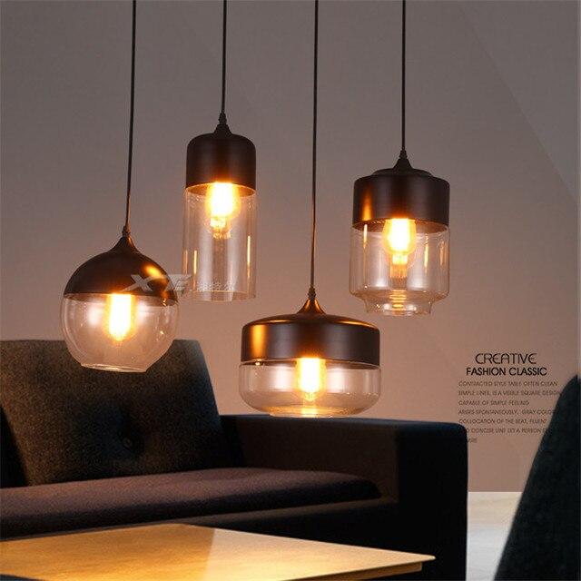 Us 50 23 51 Off Nordic Moderne Anhanger Lampe Globus Glas Anhanger Lichter Fur Kuche Restaurant Leuchte Decke Hangen Luminaria Led Lampen In
