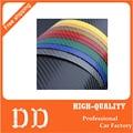 127 cm x 10 cm 3D fibra de carbono vinyl film adesivo de carro estilo do carro à prova d' água Acessórios envoltório para carro Auto Veículo detalhamento decalque
